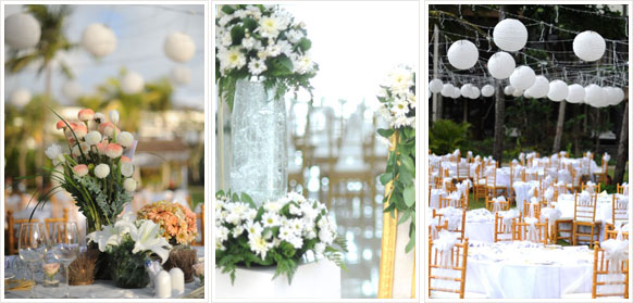 Flowers decor bali wedding planner for Bali wedding decoration ideas